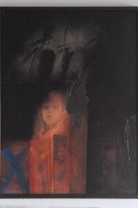 Johanna - Schatten, gerahmt ca. 61x81 cm, signiert: Piepenhagen 88